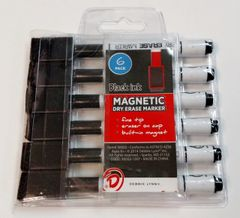 A Dry Erase Marker 6 Pack for Dry Erase Magnetic Message Board