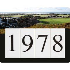 Golf Address Sign Small