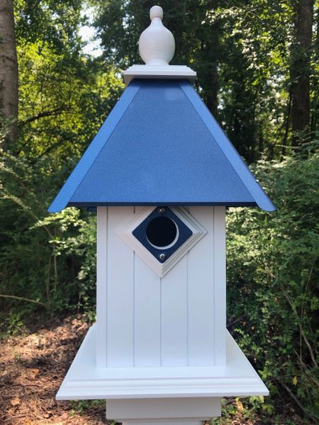 All American Bluebird House-Deluxe Guard and Deluxe Finial