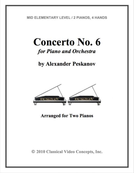 Piano Concerto No. 6 (Arranged for 2 Pianos)