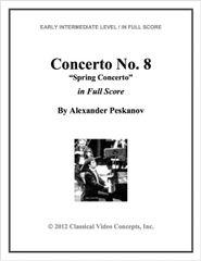 Spring Concerto (Orch. Score & Parts)