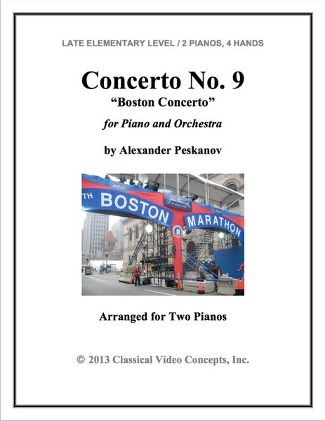 Piano Concerto No. 9 (Arranged for 2 Pianos)