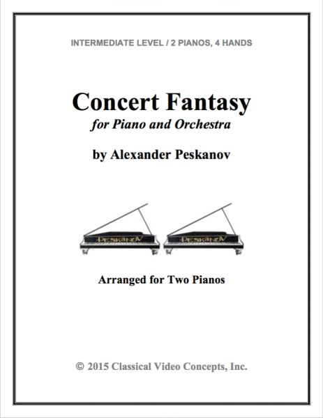 Concert Fantasy (Arranged for 2 Pianos)