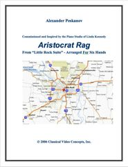 Aristocrat Rag (1 Piano, 6 Hands) e-Print