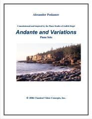 Andante and Variations - Sunshine Suite