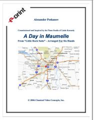 A Day in Maumelle (1 Piano, 6 Hands) e-Print