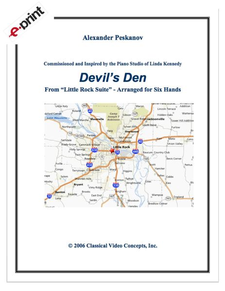 Devil's Den (1 Piano, 6 Hands) e-Print