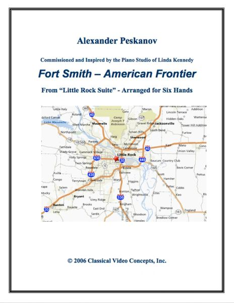 Fort Smith - American Frontier (1 Piano, 6 Hands) e-Print