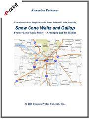 Snow Cone Waltz and Gallop (e-Print)