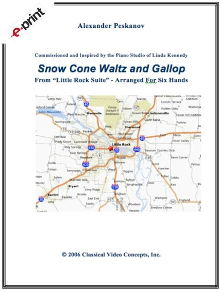Snow Cone Waltz and Gallop (e-Print)