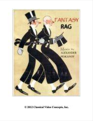 Fantasy Rag (4 Hands)
