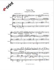 Fantasy Rag (4 Hands) e-Print