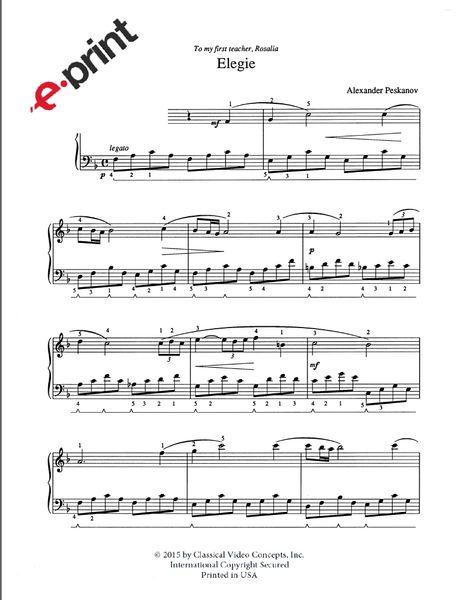 Elegie (e-Print)