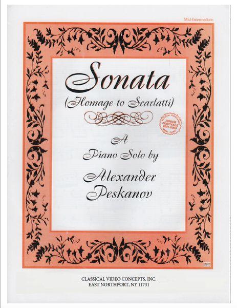 Sonata (Homage to Scarlatti)
