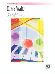 Ozark Waltz: Late Elementary Piano Trio (1 Piano, 6 Hands)