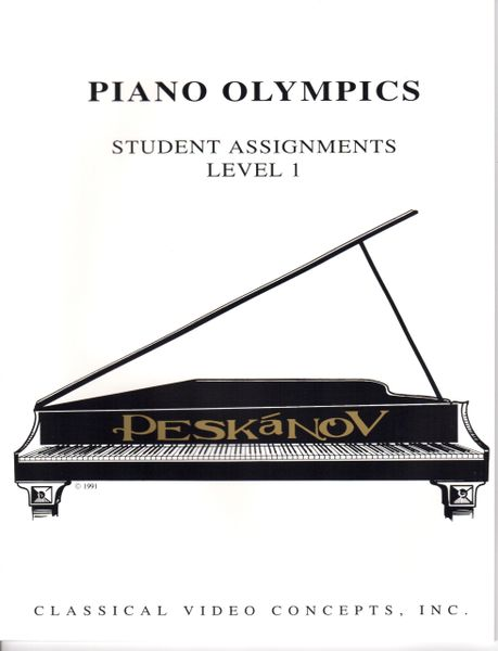 Piano Olympics St. Assignments Level I