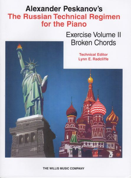 Russian Technical Regimen - Broken Chords