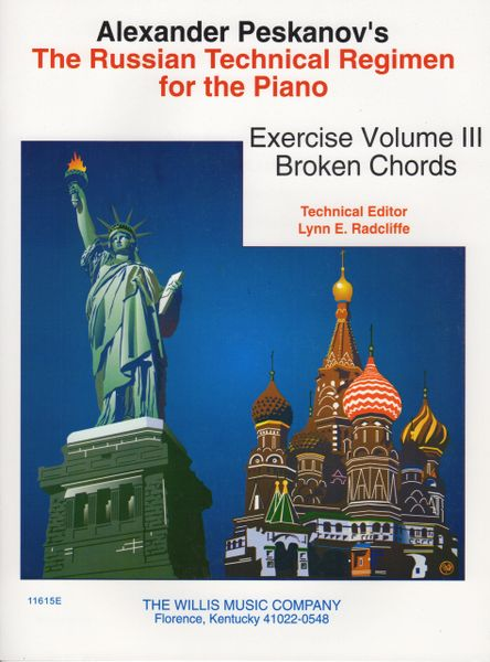 Russian Technical Regimen - Russian Broken Chords