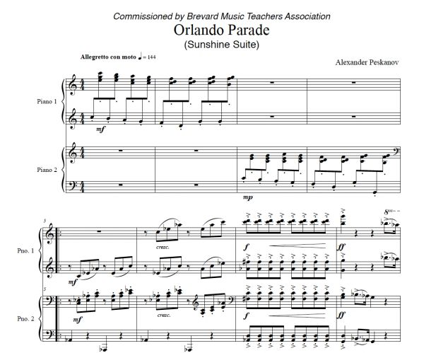 Orlando Parade (ePrint) - Sunshine Suite