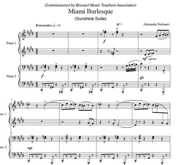 Miami Burlesque (e-Print) - Sunshine Suite
