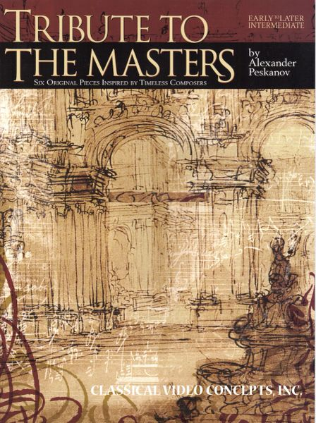 Tribute To The Masters (Early To Late Intermediate)