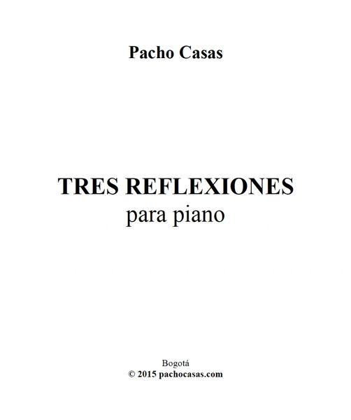 Pacho Casas - Tres Reflexiones (ePrint)