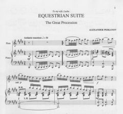 Equestrian Suite for Flute and Piano (e-Print)