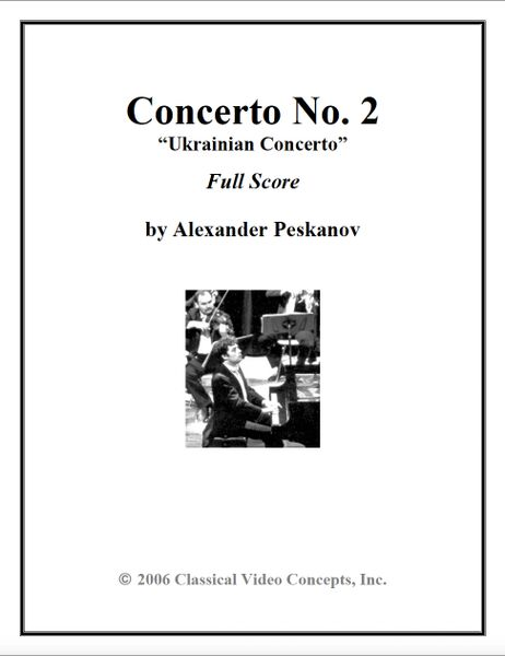 Piano Concerto No. 2 (Orch. Score & Parts)