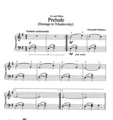Prelude - Homage to Tchaikovsky (ePrint)