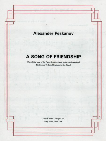 Song of Friendship