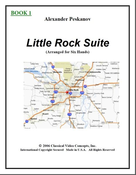 Little Rock Suite-Book 1 (1 Piano, 6 Hands)
