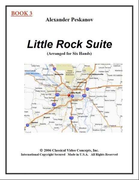 Little Rock Suite-Book 3 (1 Piano, 6 Hands)