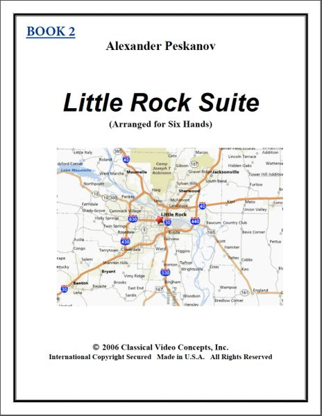 Little Rock Suite-Book 2 (1 Piano, 6 Hands)