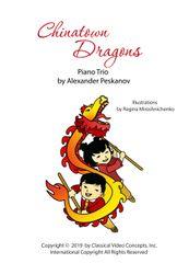 Chinatown Dragons (1 Piano, 6 Hands)