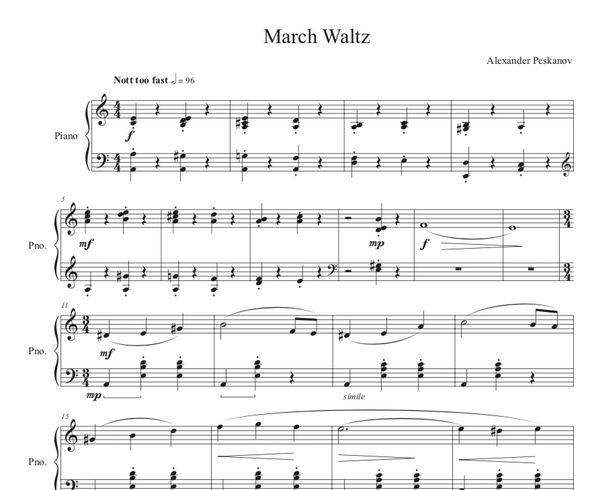 March Waltz (e-Print)