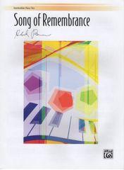 Song of Remembrance: Intermediate Piano Trio (1 Piano, 6 Hands)