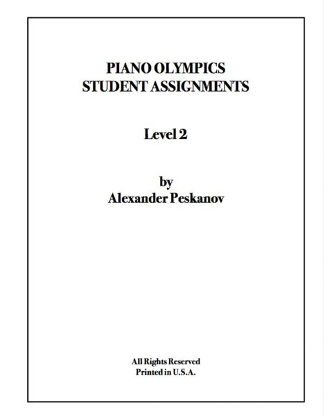 Piano Olympics St. Assignments Level 2 (Digital)