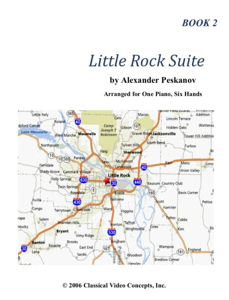 Little Rock Suite-Book 2 (NFMC Choice 2020-2024)