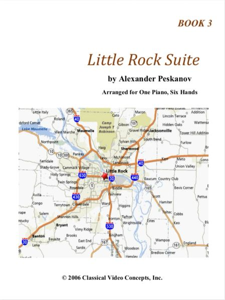 Little Rock Suite-Book 3 (NFMC Choice 2020-2024)