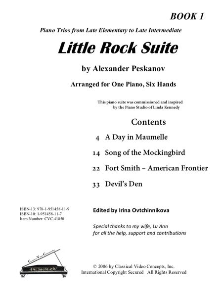 Little Rock Suite-Book 1 (Digital)