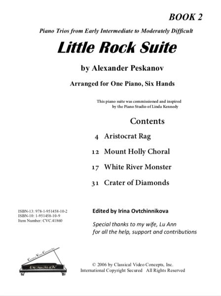 Little Rock Suite-Book 2 (Digital - NFMC Choice 2020-2024)