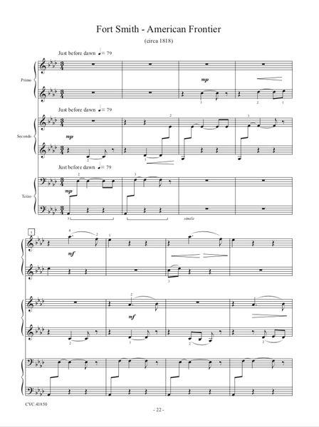 Fort Smith - American Frontier (1 Piano, 6 Hands - Digital)