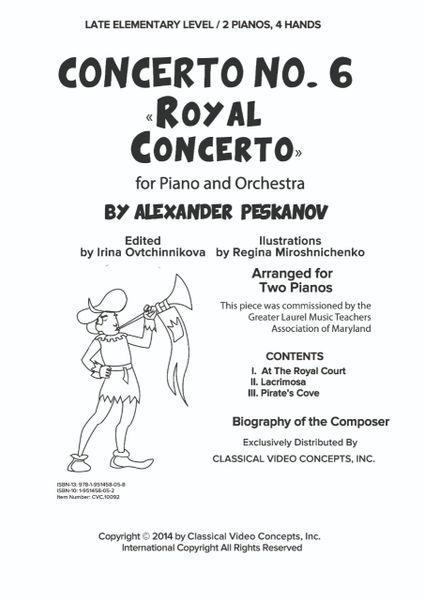 Piano Concerto No. 6 (Arr. for 2 Pianos-Digital)