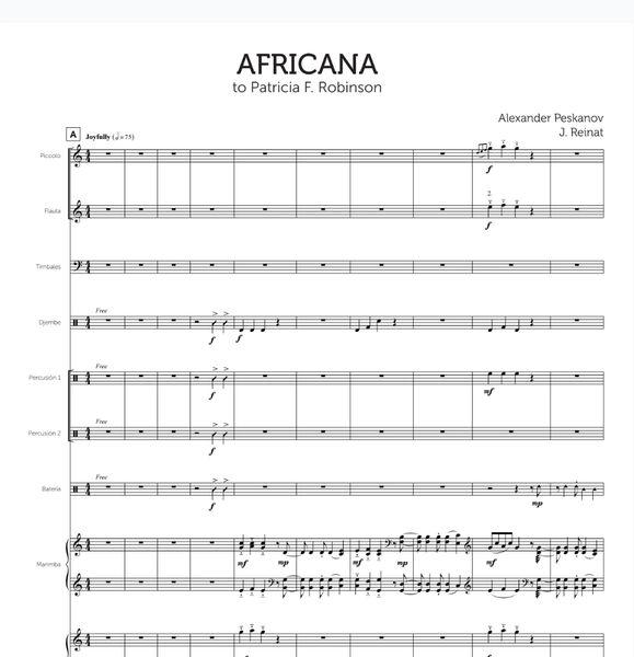 Africana (Full Orch. - Digital)