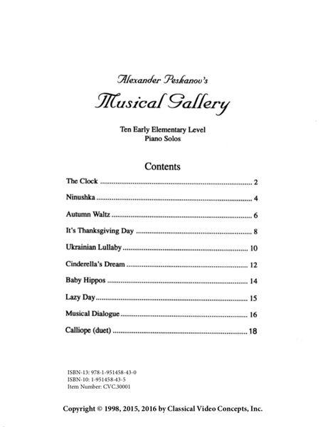 Musical Gallery: Book 1 (Early Elementary-Digital)