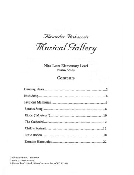 Musical Gallery: Book 3 (Later Elementary-Digital)