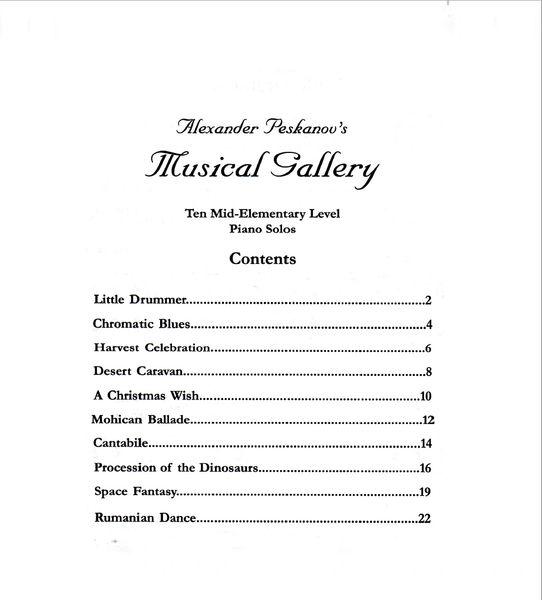 Musical Gallery: Book 2 (Mid-Elementary-Digital)