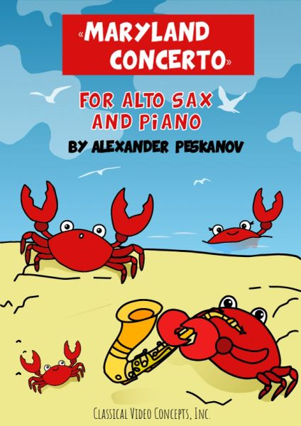 Maryland Concerto for Alto Sax & Piano