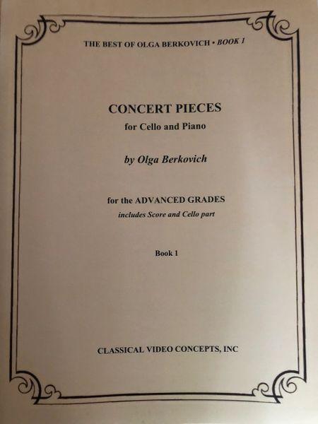 Concert Pieces (Book 1) - Cello and Piano