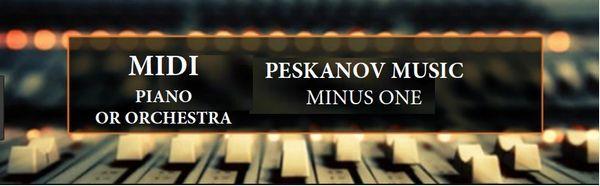 Concerto No. 7, II. Sognante (Minus 1-Orchestra)